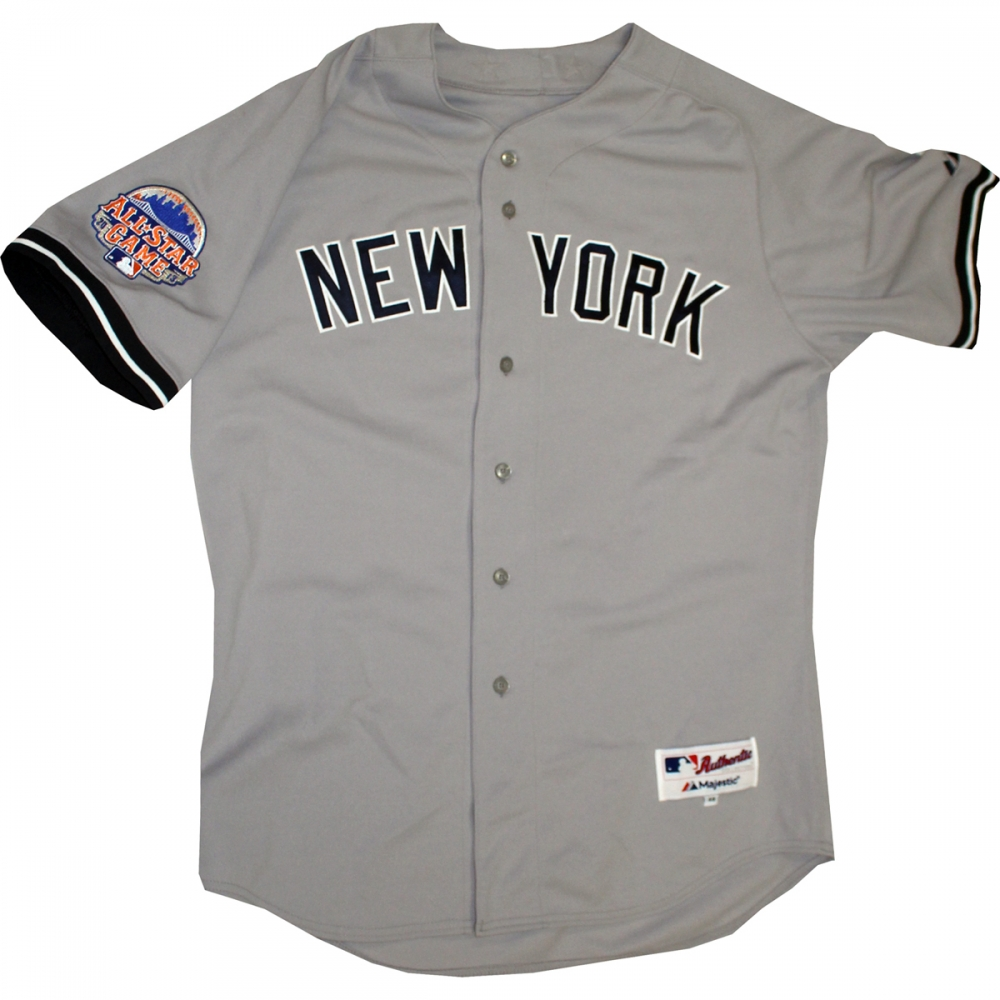 900ccc80e Mariano Rivera Signed Yankees 2013 All-Star Game Authentic Jersey (Steiner  COA) at
