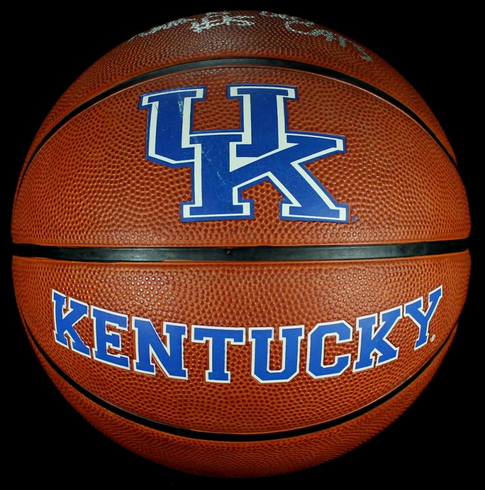 Willie Cauley-Stein Signed Kentucky Wildcats Logo ...