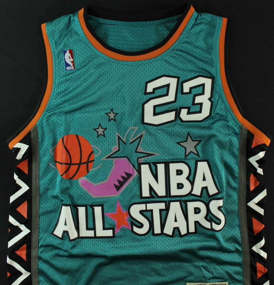 new arrival c54c1 426bd michael jordan all star jersey 1996