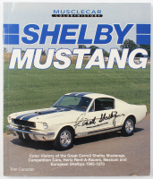"Carroll Shelby Signed ""Shelby Mustang"" Softcover Book (Beckett LOA) at PristineAuction.com"
