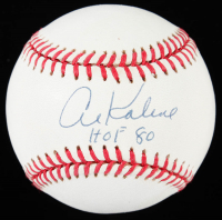 "Al Kaline Signed OAL Baseball Inscribed ""HOF 80"" (JSA Hologram) at PristineAuction.com"