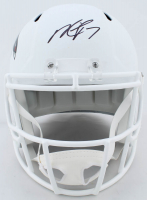 Michael Vick Signed Falcons Full-Size White Matte Speed Helmet (JSA COA) at PristineAuction.com