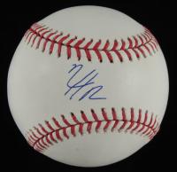 Nico Hoerner Signed OML Baseball (JSA COA) at PristineAuction.com