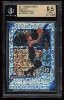 Stephen Curry 2017-18 Donruss Optic All Stars Fast Break Holo #1 (BGS 9.5) at PristineAuction.com