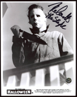 "Nick Castle Signed ""Halloween"" 8x10 Photo Inscribed ""The Shape"" (Legends COA) at PristineAuction.com"
