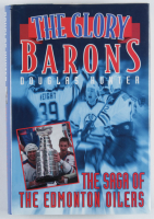 "Bill Ranford & Doug Weight Signed ""The Glory Barons"" Hard Cover Book (JSA COA) at PristineAuction.com"