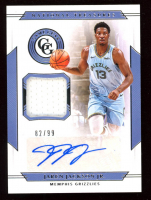 Jaren Jackson Jr. 2019-20 Panini National Treasures Game Gear Autographs #15 at PristineAuction.com