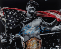 Chris Weidman Signed UFC 16x20 Photo (JSA COA) at PristineAuction.com