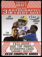 2020 Sage Hit Premier Draft Complete Series Football Blaster Box with (70) Cards at PristineAuction.com