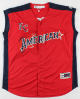 Whit Merrifield Signed All-Star Game American League Jersey (Beckett COA) at PristineAuction.com
