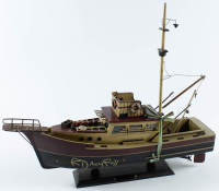 "Richard Dreyfuss Signed ""Jaws"" Orca Ship Replica Model Ship (JSA COA) at PristineAuction.com"