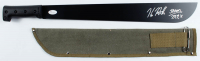 "Kane Hodder Signed ""Friday the 13th"" Steel Machete With Canvas Sheath Inscribed ""Jason"" & ""7, 9, 8, X"" (JSA Hologram) at PristineAuction.com"