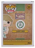 Larry Bird Signed Celtics #77 Funko Pop! Vinyl Figure (Beckett COA) at PristineAuction.com