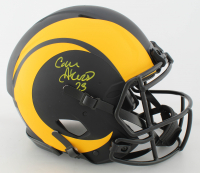 Cam Akers Signed Rams Full-Size Authentic On-Field Eclipse Alternate Speed Helmet (Beckett COA) at PristineAuction.com