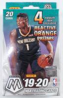 2019-20 Panini Mosaic Basketball Hanger Box of (20) Cards at PristineAuction.com