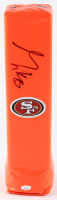 George Kittle Signed 49ers Logo Endzone Pylon (JSA COA) at PristineAuction.com