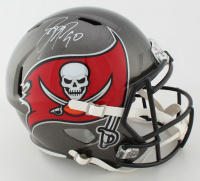 Jason Pierre-Paul Signed Buccaneers Full-Size Speed Helmet (JSA COA) at PristineAuction.com
