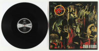 "Kerry King Signed Slayer ""Reign in Blood"" Vinyl Record Album Inscribed ""KFK"" (JSA COA) at PristineAuction.com"