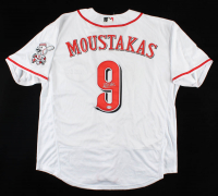 Mike Moustakas Signed Reds Jersey (PSA COA) at PristineAuction.com