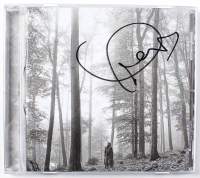 "Taylor Swift Signed ""Folklore"" CD Disc Cover (JSA COA) at PristineAuction.com"