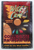 1991 Wild Card Collegiate Basketball Premier Edition Hobby Box with (120) Cards at PristineAuction.com