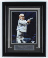 """Verne Troyer Signed """"Austin Powers"""" 13x16 Custom Framed Photo Display Inscribed """"Mini Me"""" Beckett COA) at PristineAuction.com"""