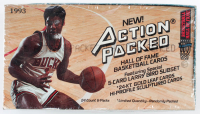 1993-94 Action Packed Hall of Fame Basketball Cards Box with (24) Packs at PristineAuction.com