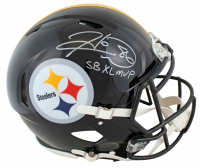 "Hines Ward Signed Steelers Full-Size Authentic On-Field Speed Helmet Inscribed ""SB XL MVP"" (Beckett COA) at PristineAuction.com"