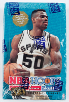 1994-95 NBA Hoops Basketball Card Box with (36) Packs at PristineAuction.com