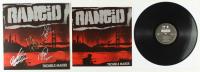 "Rancid ""Trouble Maker"" Vinyl Record Album Signed By (4) With Tim Armstrong, Lars Frederiksen, Matt Freeman & Branden Steineckert (JSA COA) at PristineAuction.com"