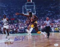 Magic Johnson Signed Lakers 11x14 Photo (JSA COA) at PristineAuction.com