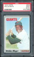 Willie Mays 1970 Topps #600 (PSA 9) (OC) at PristineAuction.com