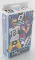 2017 Panini Donruss Football Hanger Box with (50) Cards at PristineAuction.com