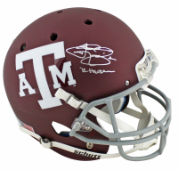 "Johnny Manziel Signed Texas A&M Aggies Matte Maroon Full-Size Helmet Inscribed ""'12 Heisman"" (Beckett COA) at PristineAuction.com"