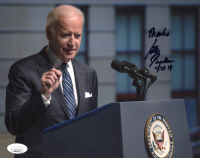 "Joe Biden Signed 8x10 Photo Inscribed ""Thanks"" & ""4-29-19"" (JSA COA) at PristineAuction.com"