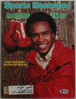 Sugar Ray Leonard Signed 1975 Sports Illustrated Magazine (Beckett COA) at PristineAuction.com
