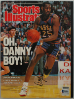 Danny Manning Signed 1988 Sports Illustrated Magazine (Beckett COA) at PristineAuction.com