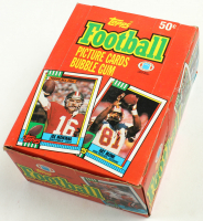 1990 Topps Football Cards Unopened Wax Box of (36) Packs at PristineAuction.com