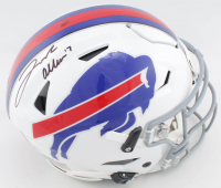 Josh Allen Signed Bills Full-Size Authentic On-Field SpeedFlex Helmet (Beckett COA) at PristineAuction.com