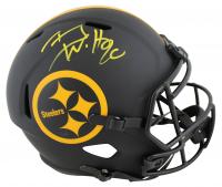 T.J. Watt Signed Steelers Eclipse Alternate Speed Helmet (Beckett COA) at PristineAuction.com