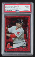 Mookie Betts 2014 Topps Update Red Hot Foil #US26 RC (PSA 9) at PristineAuction.com
