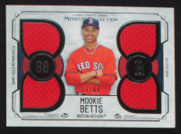 Mookie Betts 2015 Topps Museum Collection Primary Pieces Quad Relics #PPQRMBS #17/99 at PristineAuction.com
