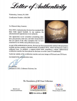 Babe Ruth Signed OAL Baseball With High-Quality Display Case (PSA LOA) at PristineAuction.com