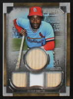 Ozzie Smith 2019 Topps Museum Collection Primary Pieces Quad Relics Legends #SPQLOS #05/25 at PristineAuction.com