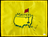 Ian Woosnam Signed 2016 Masters Golf Pin Flag (JSA COA) at PristineAuction.com
