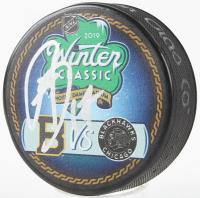 Ryan Donato Signed 2019 Winter Classic Logo Hockey Puck (JSA COA) at PristineAuction.com