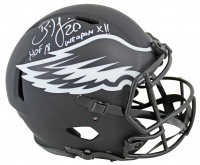 "Brian Dawkins Signed Eagles Full-Size Authentic On-Field Eclipse Alternate Speed Helmet Inscribed ""HOF 18"" & ""Weapon X!!"" (JSA COA) at PristineAuction.com"