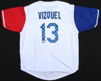 Omar Vizquel Signed Jersey (JSA COA) at PristineAuction.com
