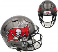 Warren Sapp Signed Buccaneers Full-Size Authentic On-Field SpeedFlex Helmet (Radtke COA) at PristineAuction.com