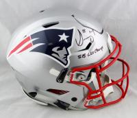 "Sony Michel Signed Patriots Full-Size Authentic On-Field SpeedFlex Helmet Inscribed ""SB LIII"" (Beckett COA) at PristineAuction.com"
